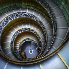 Giuseppe Momo Stairs 1932 by Johana Starová - Buildings & Architecture Architectural Detail (  )