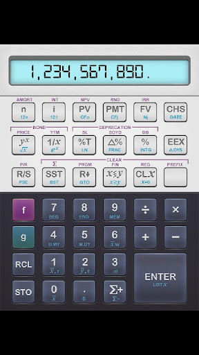 Fincalc 12F Financial RPN Calc