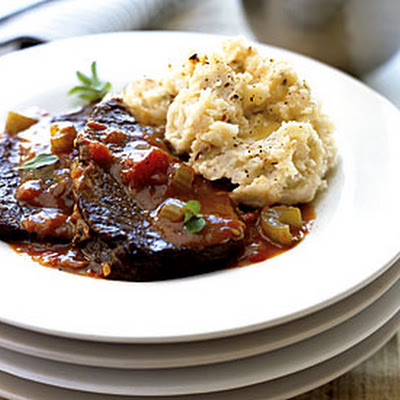 Red-Wine Pot Roast with Porcini
