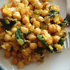 Sweet Chickpea Curry