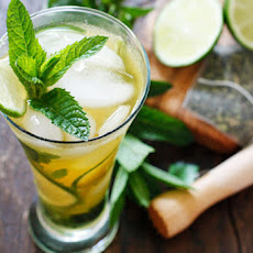 Iced Green Tea Mojito