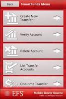 Screenshot of EFS Mobile Driver Source