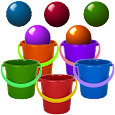 Bucket Roleta-Learn Colors Kid APK Version 1.24