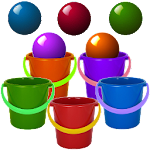Bucket Roleta-Learn Colors Kid APK Image