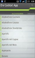 Screenshot of Die Cocktail App Lite