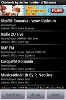 Screenshot of Internet Radio