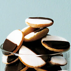 Mini Black-and-White Cookies
