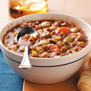 Minced Beef Vegetable Soup Recipes
