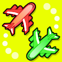 Airlines go-round icon