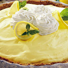 Cool Summer Lemon Pie