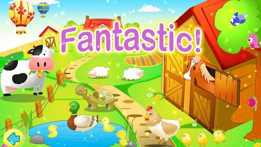 兒童拼圖123 HD - 農場風光篇
