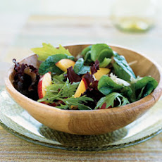 Mixed Greens and Nectarine Salad