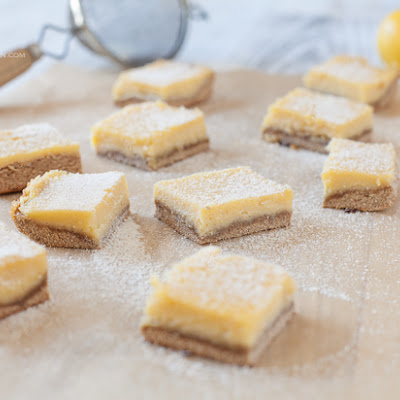 Luscious Lemon Bars (nut-free)