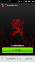 Screenshot of Tattoo Droid
