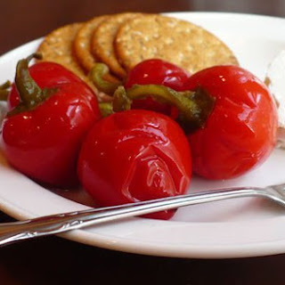 Quick-Pickled Cherry Peppers