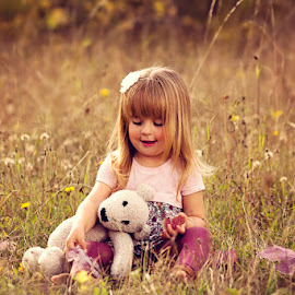 With Teddy by Chinchilla  Photography - Babies & Children Toddlers