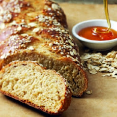 Oat and Honey Challah (Bread)