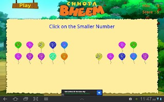 Screenshot of Math with Bheem - 03