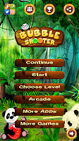 Screenshot of Panda Bubble Shooter
