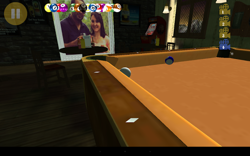 Pocket Pool 3D - screenshot