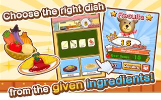 Screenshot of Kuma's Kitchen