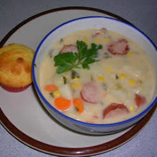 Easy Sausage Chowder