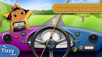 Screenshot of Tizzy Driving Adventure Lite