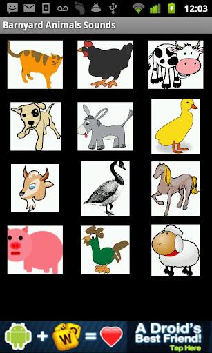 Barnyard Animals Sounds