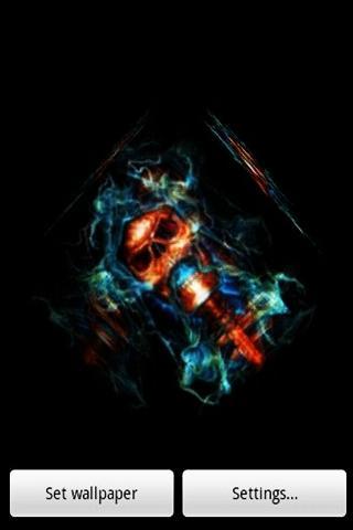 3D Skull 012