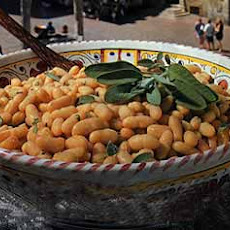 White Beans with Sage and Olive Oil
