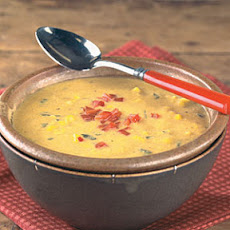 Roasted Pepper and Corn Chowder