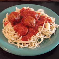 Caution: Highly Addictive Spaghetti Sauce!