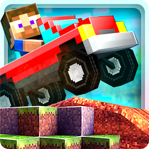 Blocky Roads - an exciting Minecraft style racing game
