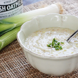 Irish Oatmeal Leek Soup