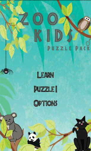 Zoo Kids: Puzzles-1 Lite
