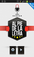 Screenshot of Al pie de la letra
