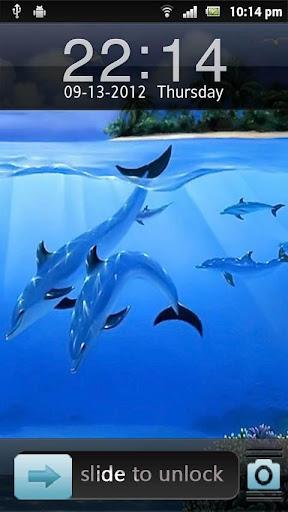 3D Fish轉到儲物櫃主題