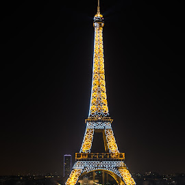 Eiffel tower by Ace Shooting - Buildings & Architecture Statues & Monuments ( eiffel tower, paris, eiffel )