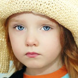 Seriously, A Hat? by Cheryl Korotky - Babies & Children Child Portraits