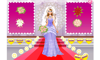 Screenshot of Sweet Wedding Bride Dress Up
