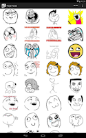 Screenshot of Rage Faces