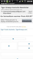 Screenshot of Gmail Timescape™