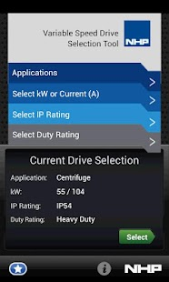 VSD Selector - screenshot