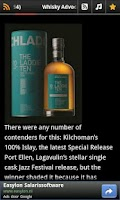 Screenshot of Scottish Whisky News