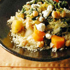 Winter Vegetable Stew over Couscous