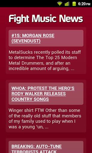 Fight Music News