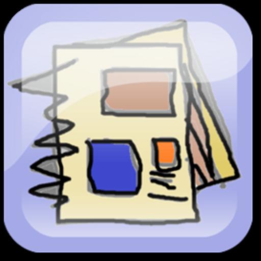 ImageScrapNote LOGO-APP點子