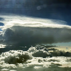 Anvil Cumulus by Ken Stringer - Landscapes Cloud Formations ( clouds, cumulus, sky, cloudscape, weather )