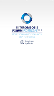 Thrombosis Forum PT - screenshot