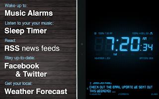 Screenshot of Alarm Clock HD - Free